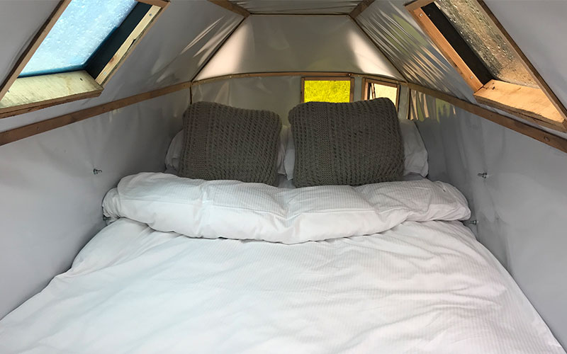 New interior of the BEDBUG